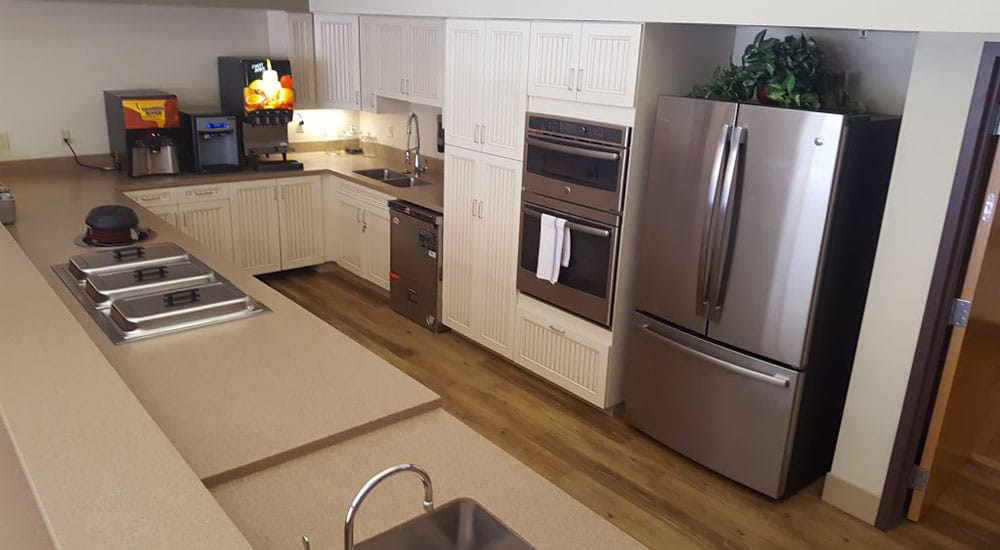 Heartwood, CBRF Assisted Living Community Kitchen