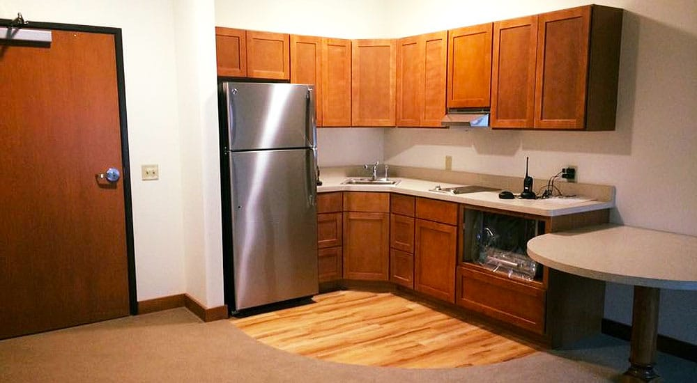 Another Kitchen option in one of the apartments at The Pines, RCAC Assisted Living